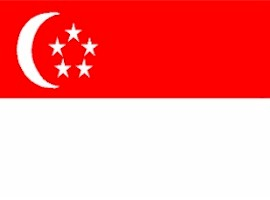 ธงชาติสิงคโปร์